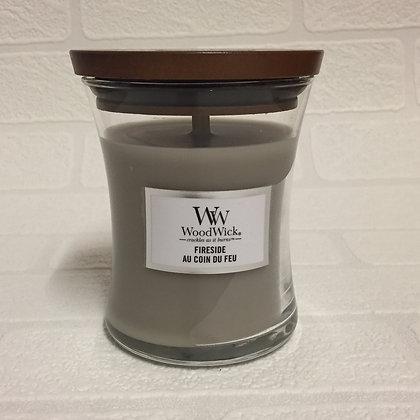 Woodwick Medium Candle - Fireside