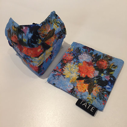 Museums Face Mask and Pouch - Turner