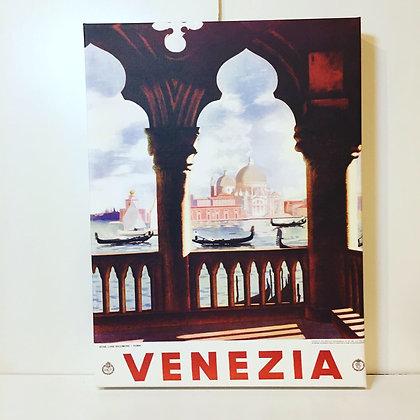 Canvas Art - Venezia Balcony