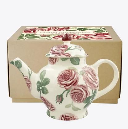 Emma Bridgewater Pink Roses 4 Mug Teapot
