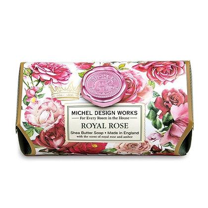 Michel Designs Bar Soap - Royal Rose