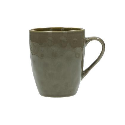 Rose & Tulipani Concerto Coffee Mug - Taupe Grey