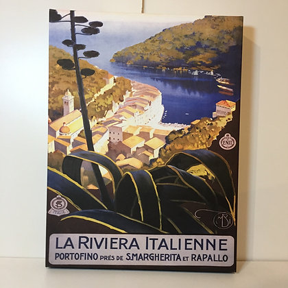 Canvas Art - La Riviera Italienne