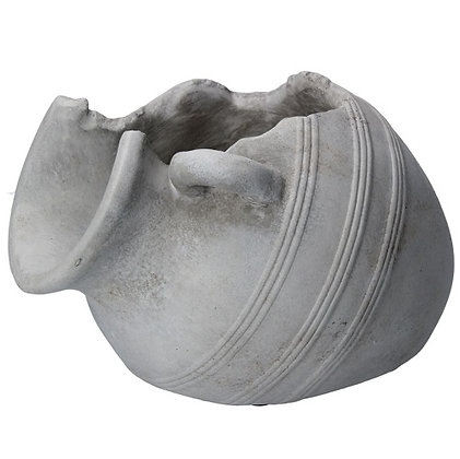 Gisela Graham Broken Water Pot Stone Effect Ornament