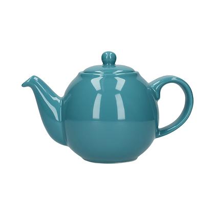 London Pottery 6 Cup Globe Teapot - Aqua