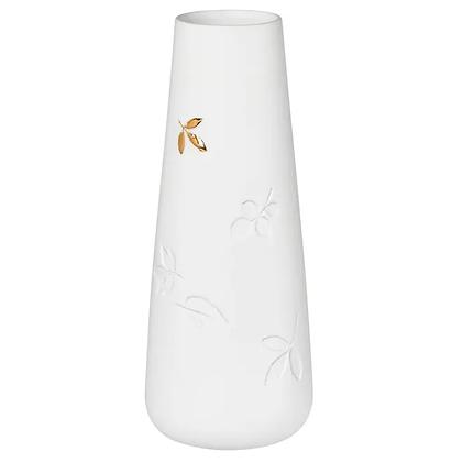 Rader White Leaves Vase