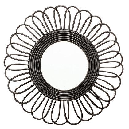 Bloomingville Black Cane Mirror