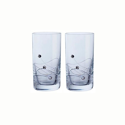 Dartington Glitz Shot Glass Pair
