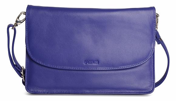 Saddler Olivia Leather Cross Body Bag - Ultra Violet
