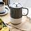 Thumbnail: La Cafetière Barcelona 6 Cup Ceramic Cafetiere - Cool Grey
