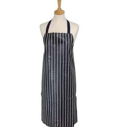 Dexam Butcher's Stripe PVC Apron - Navy