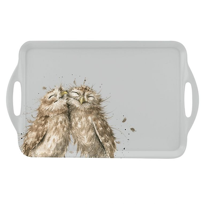Pimpernel Wrendale Designs Large Handled Tray - Owl
