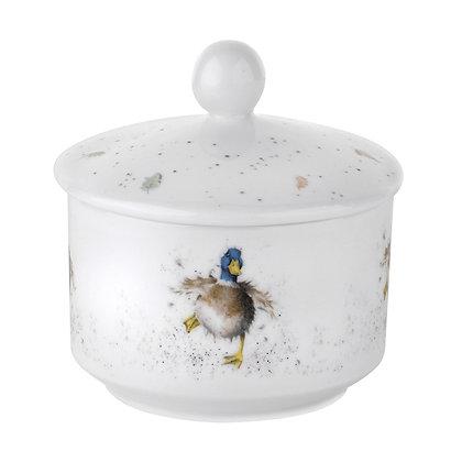 Royal Worcester Wrendale Sugar Bowl