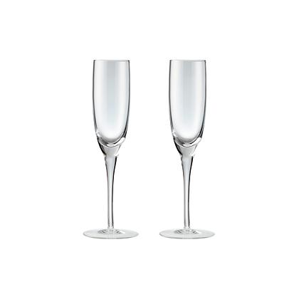 Denby China Champagne Glasses Set of 2