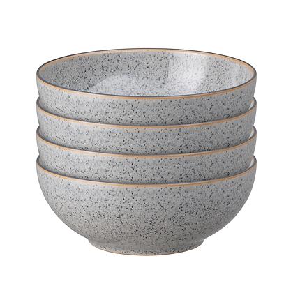 Denby Studio Grey Cereal Bowls Set x4