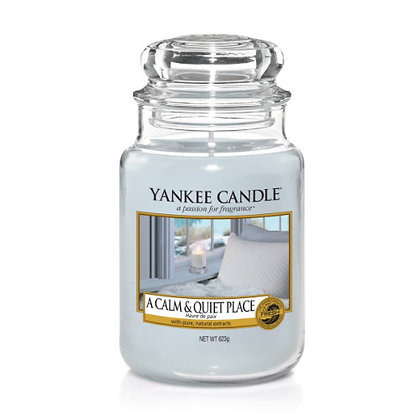 Yankee Candle A Calm and Quiet Place Large Jar Candle