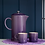 Thumbnail: Le Creuset Stoneware Coffee Pot and Press Ultra Violet