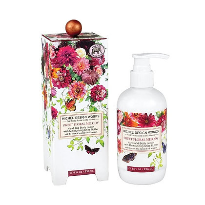 Michel Designs Hand and Body Lotion - Sweet Floral Melody