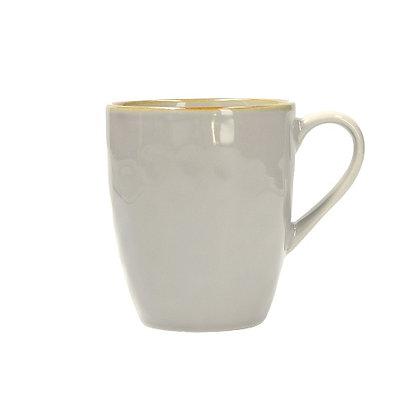 Rose & Tulipani Concerto Coffee Mug - Pearl Grey