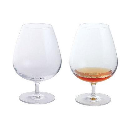 Dartington Crystal Wine and Bar - Brandy Glass Pair