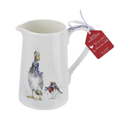 Royal Worcester Wrendale 1 pint Jug - Duck and Robin