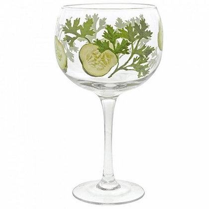 Ginology Gin Copa Glass - Cucumber