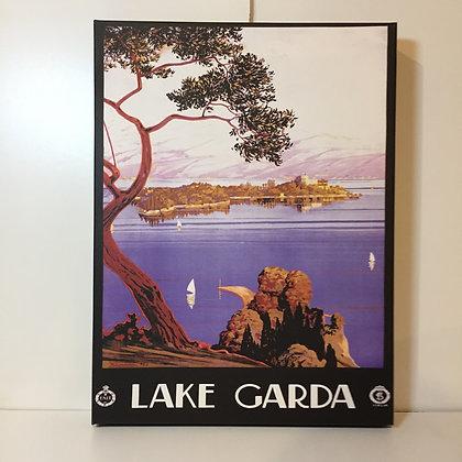 Canvas Art - Lake Garda