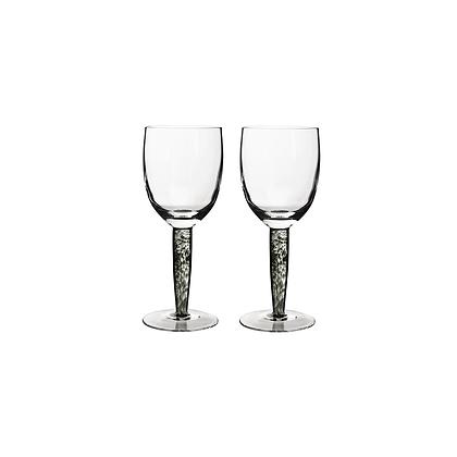 Denby Jet White Wines Set of 2