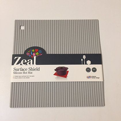 Zeal Surface Shield Silicone Hot Mat- Grey