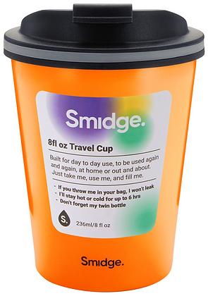 Smidge 236ml Insulated Travel Cup-Citrus
