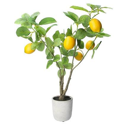 Gisela Graham Lemon Tree Faux Pot Plant