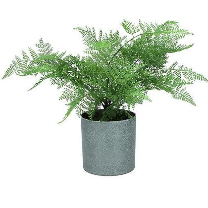 Gisela Graham Ming Fern Faux Pot Plant