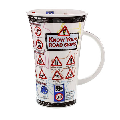 Dunoon Glencoe Mug - Know Your Road Signs