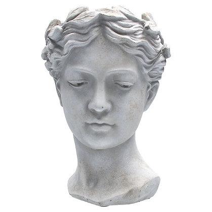 Gisela Graham Goddess 17.5cm Stone Effect Pot Cover