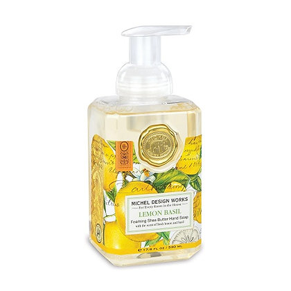 Michel Designs Foaming Hand Soap - Lemon Basil
