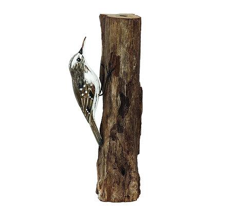 Archipelago Treecreeper Wooden Sculpture