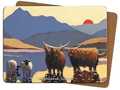 Thomas Joseph Single Placemat - Highland Sunset