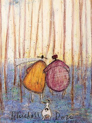 Canvas Art - Sam Toft 'Bluebell Daze'