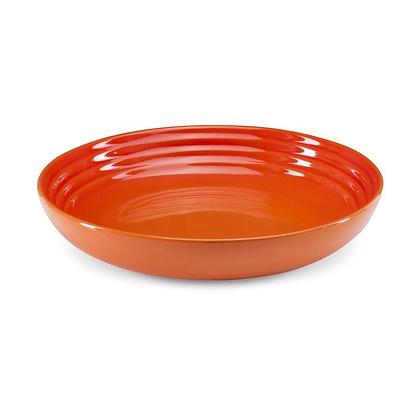 Le Creuset Stoneware Pasta Bowl - Flame/Volcanic