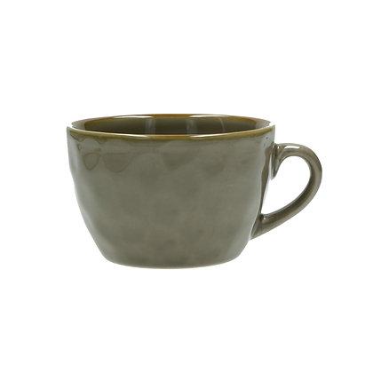 Rose & Tulipani Concerto Breakfast Mug - Taupe Grey