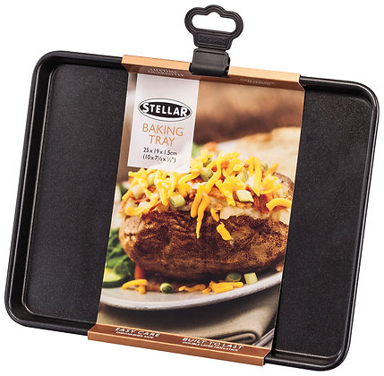 "Stellar Baking Tray 9"" x 7"" with packaging"