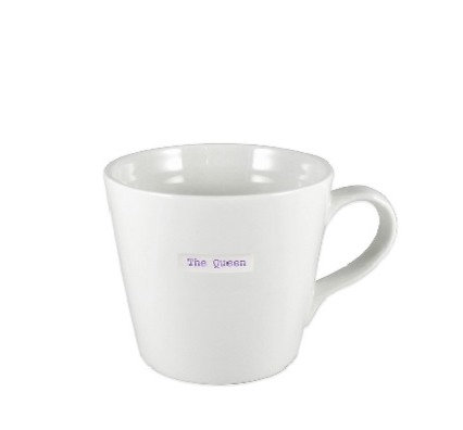 Keith Brymer Jones Large Word Mug - The Queen