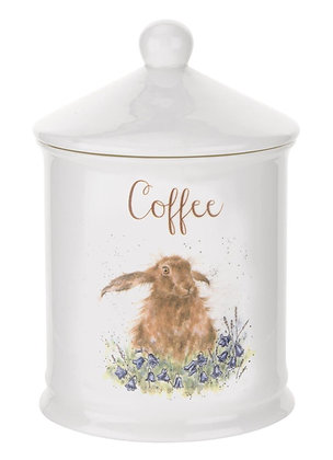 Royal Worcester Wrendale Coffee Caddy