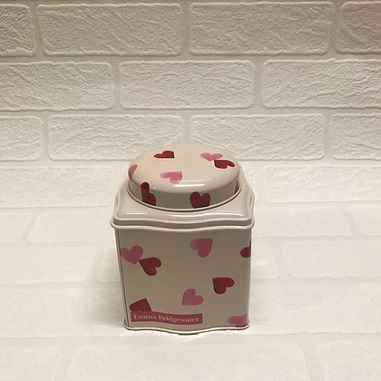 "Elite Tins Emma Bridgewater ""Pink Hearts"" Storage Caddy"
