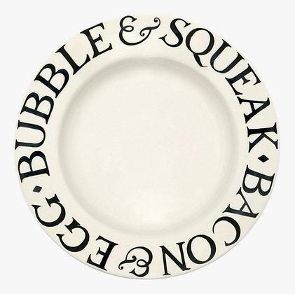 Emma Bridgewater Black Toast 10.5 inch Dinner Plate