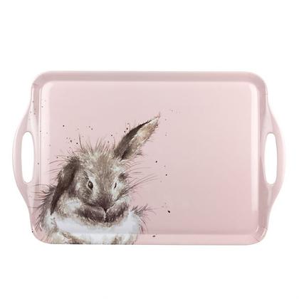 Pimpernel Wrendale Designs Large Handled Tray - Rabbit
