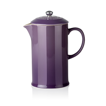 Le Creuset Stoneware Coffee Pot and Press Ultra Violet