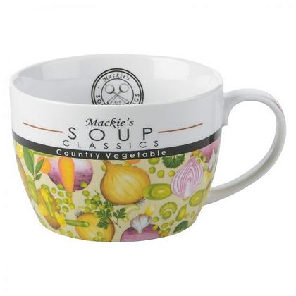 Mackie's Soup Mug - Country Vegetable