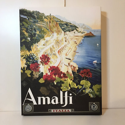 Canvas Art - Amalfi