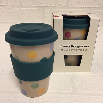 Emma Bridgewater Rice Husk Travel Cup - Polka Dot